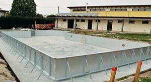 fabricated pool